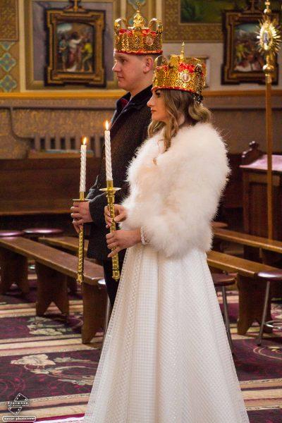 шлюб в церкві Чортків
